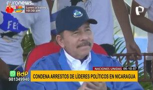 OEA condena ola de arrestos arbitrarios en el régimen de Daniel Ortega