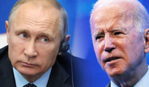 Joe Biden y Vladimir Putin se reúnen hoy en Ginebra