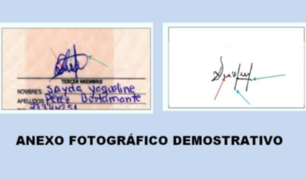 "Peritos de caso 'agendas' de Nadine habrían detectado ""firmas falsas"" en cientos de actas, según diario Expreso"