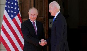Cumbre en Ginebra con Biden: Putin aseguró que no hubo hostilidad, pese a discrepancias