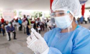 Minsa estima que el 65% de la población estará vacunada en el cuarto trimestre del 2021