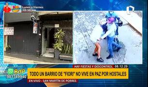 SMP: vecinos aseguran que hostales generan prostitución, delincuencia y drogadicción