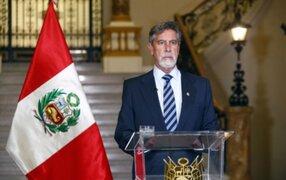 Gobierno de Francisco Sagasti ya está preparando el proceso de transmisión de mando