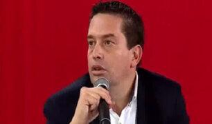 """Torres: """"Es irresponsable que un candidato se autoproclame presidente cuando hay votos en cuestión"""""""