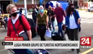 Madre de Dios: llegan primeros turistas extranjeros tras más de un año de pandemia