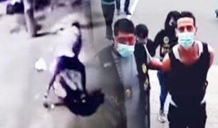 Capturan a extranjero que acuchilló a una mujer para robarle celular