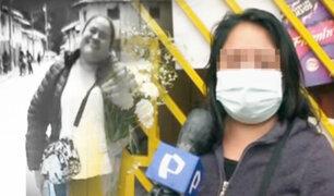 Familiares de dirigente vecinal asesinada en Pachacámac denuncian amenazas de muerte