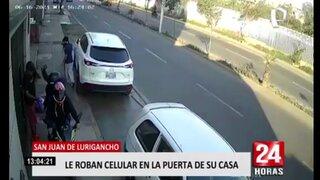 Cámara de seguridad registra robo en moto lineal en Zárate
