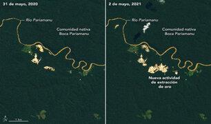 NASA usará satélites en la detección de minería ilegal en el Amazonas