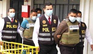 Huancayo: capturan a integrantes de peligrosa banda dedicada a asaltar pasajeros