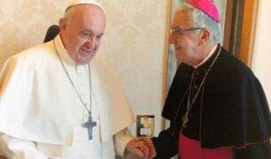 Papa Francisco recibe al Arzobispo de Lima Carlos Castillo y envía bendición para el Perú