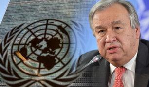António Guterres fue reelegido como secretario general de la ONU