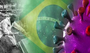 Brasil supera las 500 mil muertes por la pandemia de la COVID-19