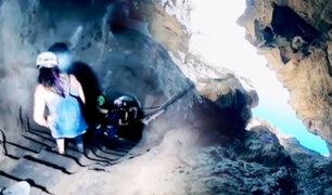 La ruta viajera en el cañón de Autisha