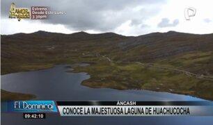 Maravillas en Áncash: Conoce la majestuosa laguna de Huachucocha