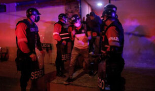 SMP: intervienen a más de 150 personas en prostíbulo clandestino