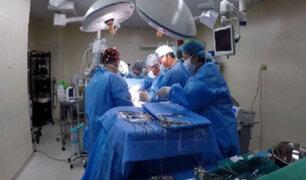 Junín: neurocirujanos corrigen malformación congénita en columna de bebé