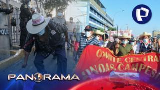 Ronderos en Lima: llegaron para defender el voto popular de Perú Libre