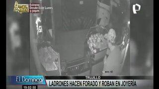 Trujillo: ladrones hacen forado y roban en joyería