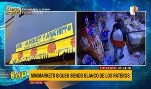 Roban S/.5 mil soles de minimarket y dueño exige mayor patrullaje policial