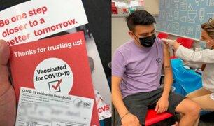 Covid-19: Lanzan plataforma de registro para peruanos vacunados en el extranjero