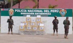 Decomisan  más de 380 kg de cocaína en la provincia cusqueña de la Convención