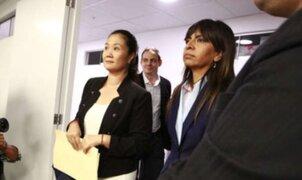 PJ autoriza a Keiko Fujimori a participar presencialmente en audiencia de prisión preventiva