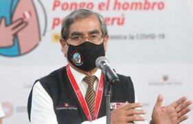 Ministro Ugarte: vacunación a menores podría darse en el cuarto trimestre del 2021