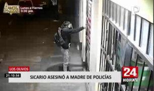 Los Olivos: identifican a los sujetos que están tras la muerte de la madre de dos policías
