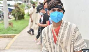 Madre de Dios: empezó vacunación contra el coronavirus a población indígena