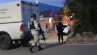 México: asesinan a balazos a 7 personas en taller mecánico de Guanajuato