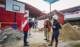 Minedu realizó acondicionamiento de servicios higiénicos en 163 colegios de Lima