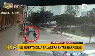 SMP: barras bravas se enfrentan a balazos y vecinos temen por aumento de la violencia