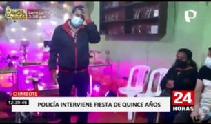 Chimbote: intervienen quinceañero y familia pide apagar la vela