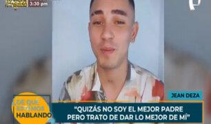 Jean Deza es denunciado por agredir a la madre de su hija que le pidió pago de pensión