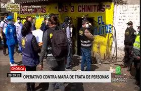 Operativo contra presunta red internacional de trata de personas dejó 4 detenidos en Chosica