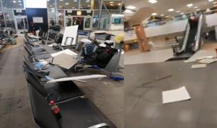 Sismo de magnitud 6.0: reportan daños en la estructura interna del aeropuerto Jorge Chávez