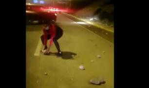 Miraflores: cierran la Costa Verde por desprendimiento de piedras tras sismo