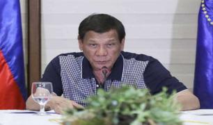 Presidente de Filipinas amenaza con enviar a la cárcel a los no se vacunen contra el coronavirus