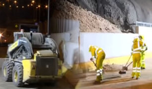 Sismo de 6.0: Emape realizó labores para liberar tramos de la Costa Verde por desprendimiento de rocas