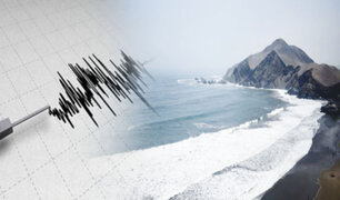 "Fuerte sismo de 6.0 dejó mar ""embravecido"" en Mala"