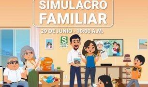 Sismo en Lima: Programan simulacro familiar para el próximo martes 29 de junio