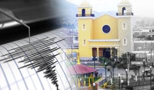 IGP registró 13 réplicas de sismo ocurrido en Cañete