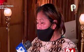 El desgarrador testimonio de la madre del pequeño fallecido durante fuerte sismo en Chilca