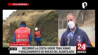 Costa Verde: MML iniciará trabajos de restauración de geomallas dañadas