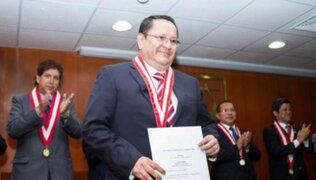 JNE inicia evaluación legal tras renuncia irrevocable presentada por el fiscal Luis Arce Córdova