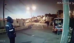 Destellos de luz aparecieron en el cielo durante el sismo de magnitud 6.0