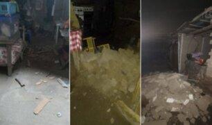 Televidentes comparten vídeos de cómo se sintió el sismo de magnitud 6.0