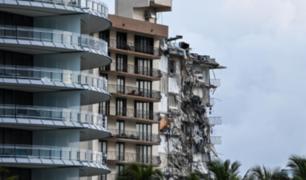 EEUU: al menos un muerto tras derrumbe parcial de edificio residencial en Miami Beach