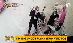 Delincuentes al acecho: sujetos a bordo de motos asaltan diariamente en Los Olivos